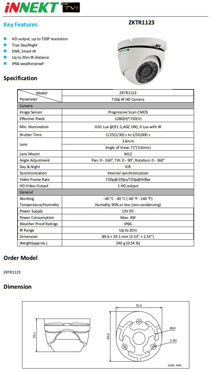 ZKTR1123-datasheet