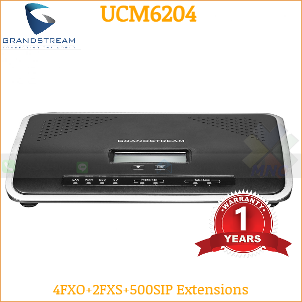 Grandstream UCM6204 IP-PBX