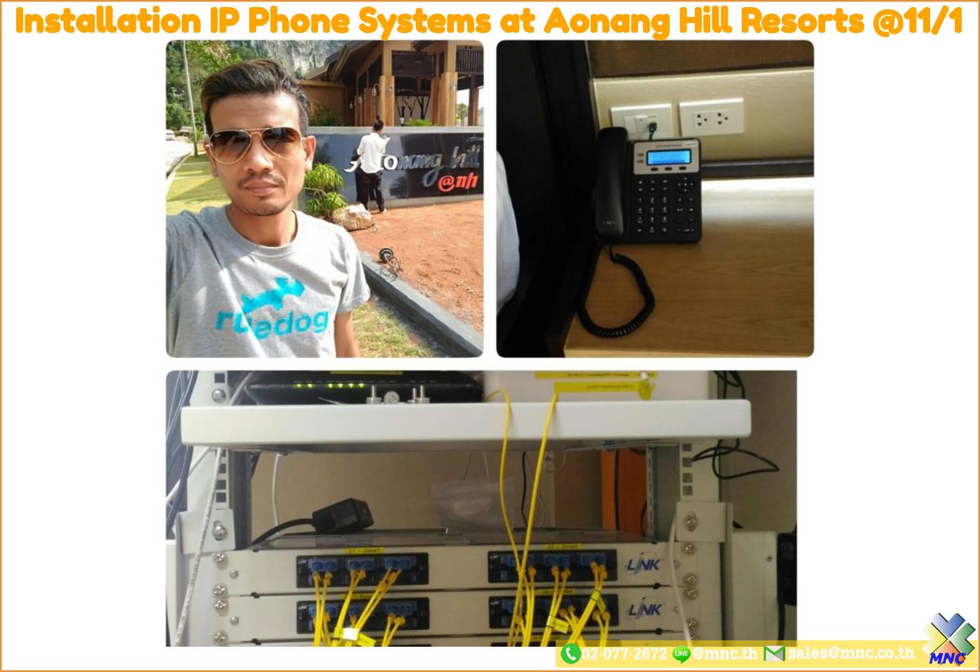 MNC Blogs Install Aonang Hill Resorts