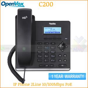 OpenVox IP-Phone C200 100Mpbs PoE