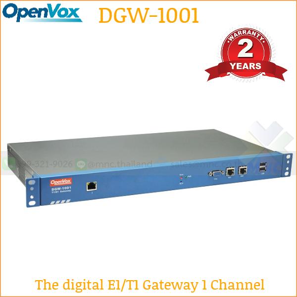 OpenVox DGW-1001 E1 Gateway
