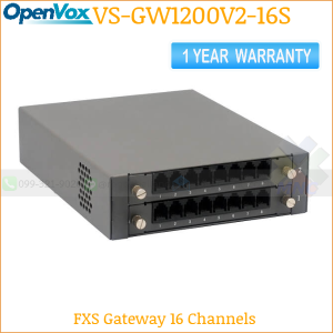 OpenVox SWG-2008-16S 16 FXS VoIP Gateway