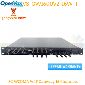 OpenVox SWG-2008-16W-T 3G VoIP Gateway 16 channels