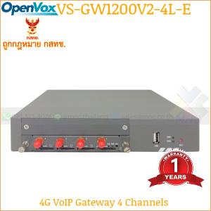 OpenVox SWG-2008-4L-E VoIP Gateway